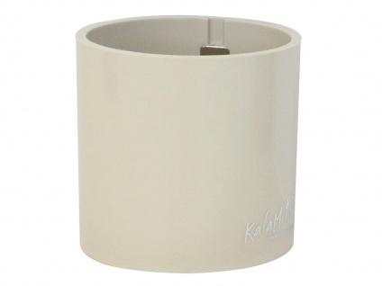 Kunststofftopf mit Magnet Ø 10 cm, Braun, Wandaufbewahrung Wanddeko, KalaMitica - Vorschau 2