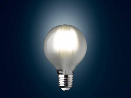 Filament LED dimmbar E27 Leuchtmittel Glühbirne Klares Glas 7 Watt 806lm 2700K