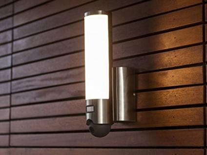 LED Außenleuchte Wandlampe mit Bewegungsmelder und WLAN Kamera, Türsprechanlage