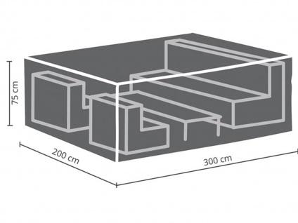 Schutzhüllen Set: Abdeckung 300x200cm für Garten Lounge + Hülle für 6-8 Polster - Vorschau 3