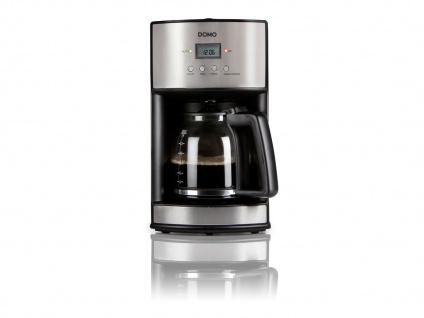 Timer-Kaffeemaschine Kaffeeautomat 24-Std. Timer, 1000W, 1, 8 Liter