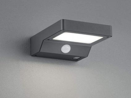 LED Solar Wandleuchte Außenleuchte Fassadenbeleuchtung Solarlampe für den Garten