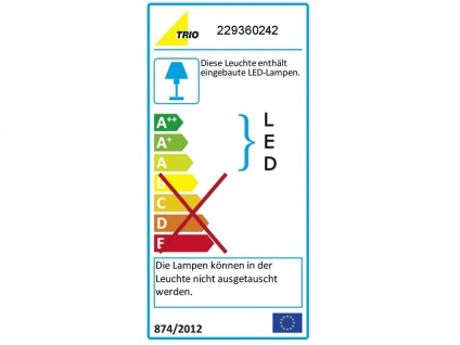 LED Wandleuchte 2er Set für Außen & Innen Anthrazit UP/DOWN Fassadenbeleuchtung - Vorschau 3