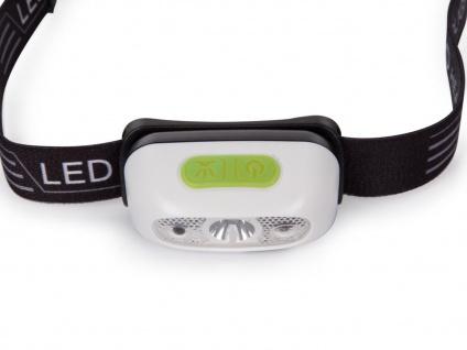 Wiederaufladbare Stirnlampe Kopflampe Outdoor mit weißen CREE LEDs, SOS Funktion - Vorschau 2