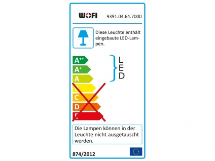 LED Deckenbalken Nickel matt 4 Spots schwenkbar 18W Deckenstrahler Deckenleuchte - Vorschau 3