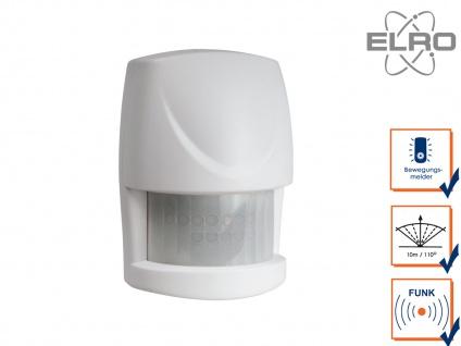 Bewegungsmelder 10m / 110° Smart Home ELRO AS8000 Alarmsystem App gesteuert - Vorschau 1