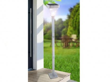 2er Set LED Solarleuchten Wegeleuchten 1m, Gartenlampen Solar Außenbeleuchtung - Vorschau 3