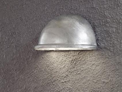 2 Stk Konstsmide Wandleuchte Downlight TORINO galvanisiert, Beleuchtung außen - Vorschau 3