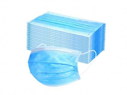 50 Stück Einwegmasken 3 lagig Hygienemasken Mundmasken Atem Behelfsmasken - Vorschau 2