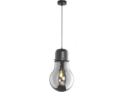 Coole Pendelleuchte LOUIS Ø28cm - Retro Hängelampe Design Glühbirne für Esstisch - Vorschau 2