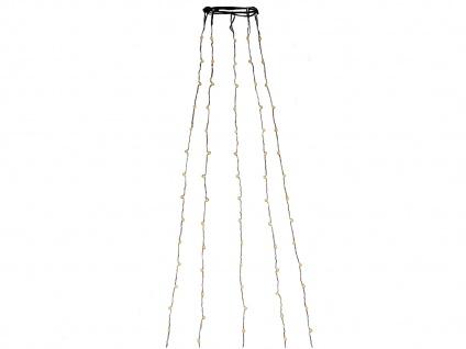 Lichterkette Innen 180 bernsteinfarbene LEDs & Timer Weihnachtsbaum Beleuchtung - Vorschau 2