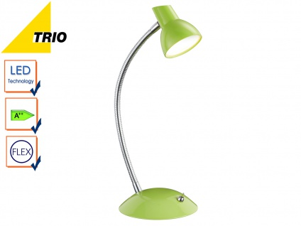 LED Tischleuchte Schreibtischlampe KOLIBIR Grün Höhe bis 35 cm