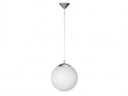 Kugel-Pendelleuchte Ø 25 cm, Glas opalweiß. Wofi-Leuchten