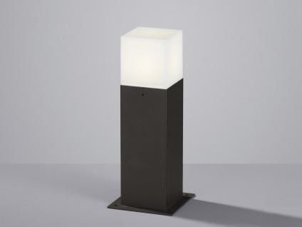 LED Sockelleuchte in Anthrazit 30cm - 2er Set Terrassenbeleuchtung Wegeleuchten - Vorschau 5