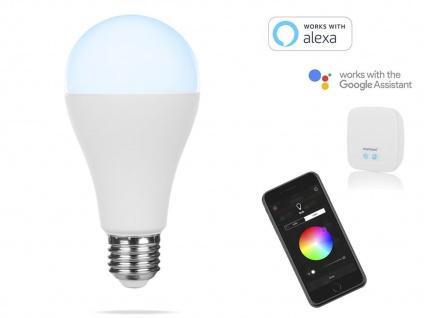 Intelligentes LED Leuchtmittel Smarthome PRO, dimmbar & RGB Farbwechsel per App - Vorschau 4