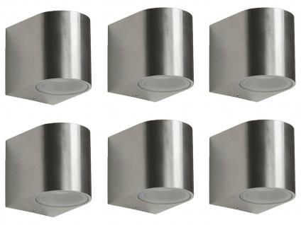 6er Set Ranex SMD-LED Wandleuchte Metall, downlight, IP44, 230Lm