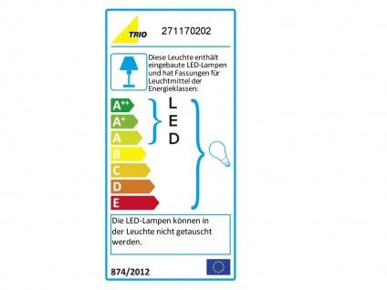 Wandleuchte mit Stoffschirm schwarz und LED Leselampe fürs Bett - Stecker Kabel - Vorschau 3