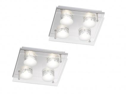 2er Set LED Deckenleuchte ENVY, 22 x 22 cm, LED Deckenlampen Deckenleuchten - Vorschau 2