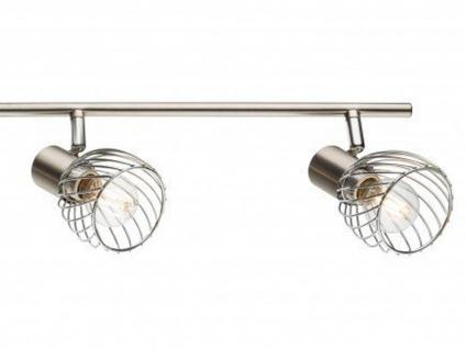Design Deckenleuchte Deckenstrahler 4 flammig schwenkbar, Deckenlampe Wohnraum - Vorschau 4