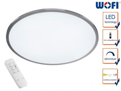 Deckenleuchte LED Panel rund Ø 40cm dimmbar Farbwechsel Timer mit Fernbedienung