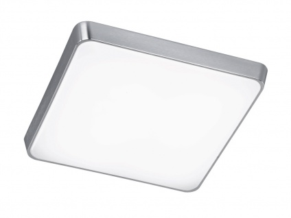 TRIO Dimmbare LED-Deckenleuchte, ink. 23W SMD-LED, 1380Lm, 44 x 44cm
