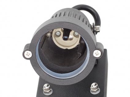 2er-Set Downlight Außenwandleuchten mit Bewegungssensor, GU10, 90° x 8 Meter - Vorschau 4