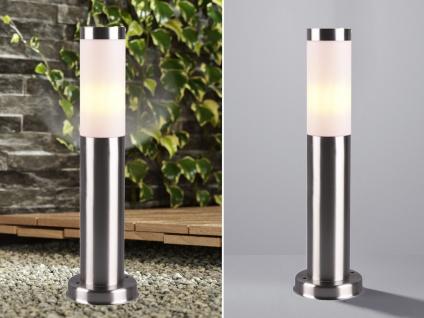 Edelstahl Sockelleuchten Höhe 45cm - Outdoor Stehlampe für draußen Wegeleuchten