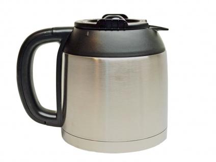 Edelstahl Thermoskanne 10 Tassen - Ersatzkanne für Domo Kaffeemaschine DO474K