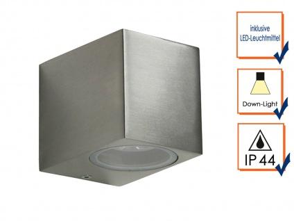 2er Set SMD-LED Wandleuchte MIKA Kubusform, downlight, 160Lm, IP44 - Vorschau 4