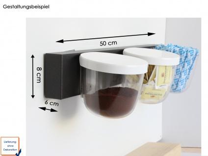 Wandaufbewahrung, Set aus Magnettafel und 3 Töpfen Kugel je Ø 10cm, KalaMitica