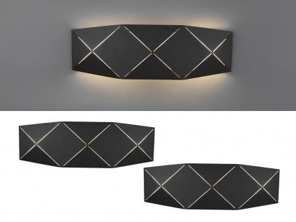 Coole Up and Down LED Wandleuchten, flache Wandlampen für Treppenhaus, Innenwand
