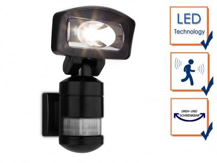 LED Roboter Sicherheitsleuchte, Außenfluter mit Bewegungsmelder & -verfolgung