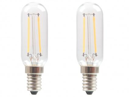 2er-Set FILAMENT-LED E14, 2 Watt, 200 Lumen, 2700 Kelvin, warmweiß - Vorschau 2