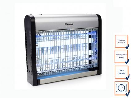 Insektenvernichter 2x 10W UV-Lampe, Mückenschutz, Fliegenfalle, Mückenfalle
