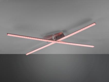 LED Deckenleuchte STRADA mit RGBW Farbwechsler & Fernbedienung, schwenkbare Arme - Vorschau 4