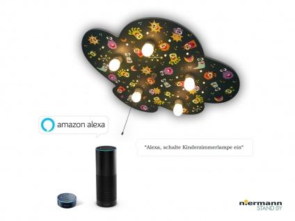 Kinder Deckenleuchte ALIEN Zugschalter LED-Schlummerlicht Amazon Echo kompatibel