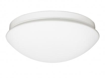 LED Deckenleuchte außen mit Bewegungsmelder Lampenschirm weiß - Außenbeleuchtung