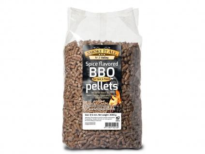 BBQ Grill Pellets Räucherpellets Buchenholz mit Gewürzen 3, 0 kg - Vorschau 2