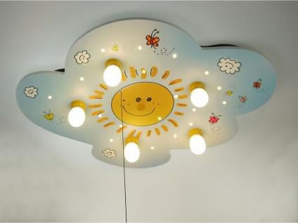 Deckenleuchte Kinderzimmer ALEXA, schalte Wolkenlampe an Schlummerlicht SUNNY - Vorschau 2