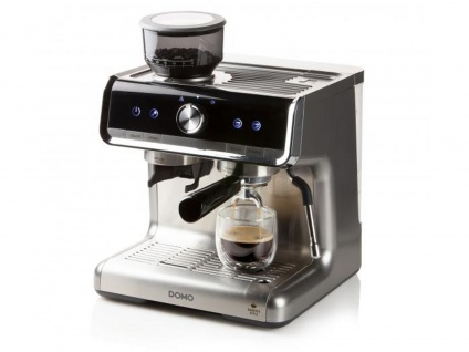 Profi Espressomaschine Barista Kaffeevollautomat mit Mahlwerk & Milchaufschäumer