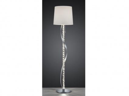Außergewöhnliche große Designer LED Stehlampe mit Schirm Wohnzimmer Luxuslampen