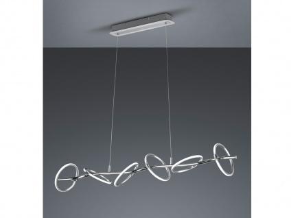 Designer LED Pendelleuchte mehrflammig Ringleuchten für über Esstisch Esszimmer