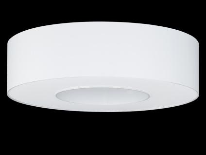 Runde Deckenleuchte Schirm & Abdeckung weiß Ø 65cm Wohnraumleuchten Bürolampe - Vorschau 3