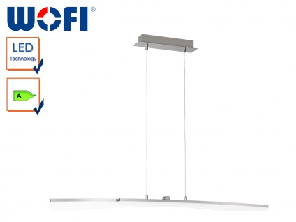 LED Pendelleuchte CONSELL, B. 120cm, LED Hängelampe Pendellampe Hängeleuchte