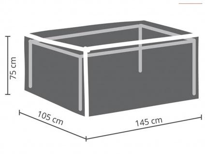 Schutzhüllen Set: 1x Hülle für Tisch max. 140cm + 1x Hülle für 4-6 Stapelstühle - Vorschau 3