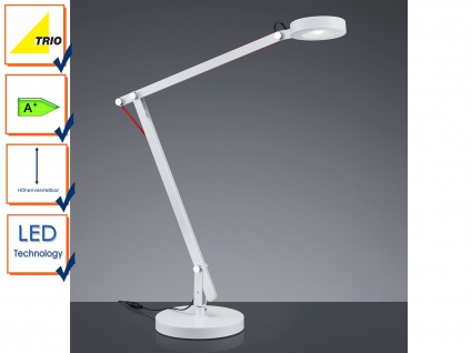 LED-Schreibtischleuchte / Schreibtischlampe AMSTERDAM Trio