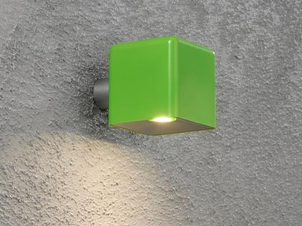 LED Außenwandleuchte AMALFI, grün, Wandleuchte Wandstrahler Wandspot - Vorschau 5