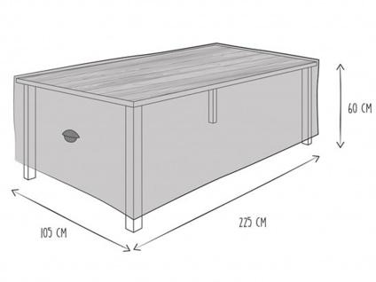 Gartenmöbel Schutzhülle Abdeckung für Gartentisch 225x 105cm, wetterfeste Plane