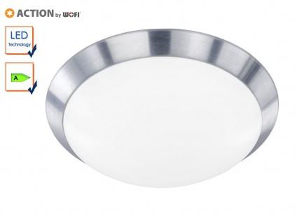 LED Deckenlampe Deckenleuchte klassisch, 33cm, Alu, Action by Wofi