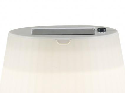 Solar High Power LED-Tischlampe / Tischleuchte ASSISI, gelb Höhe 36 cm - Vorschau 3